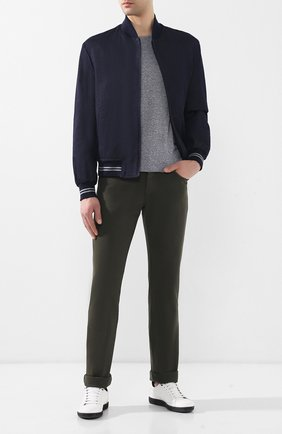 Мужские джинсы прямого кроя BRIONI хаки цвета, арт. SPL40N/07T01/MERIBEL | Фото 2