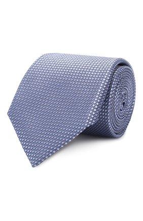 Мужской шелковый галстук CORNELIANI синего цвета, арт. 83U302-9120312/00   Фото 1