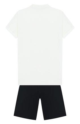 Комплект из хлопкового поло и шорт | Фото №2