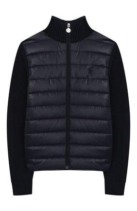 Утепленная куртка из хлопка | Фото №1