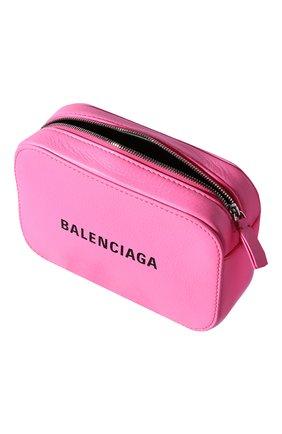 Сумка Everyday Camera XS Balenciaga розовая цвета   Фото №3