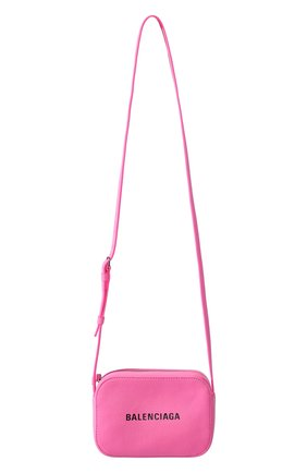 Сумка Everyday Camera XS Balenciaga розовая цвета   Фото №4