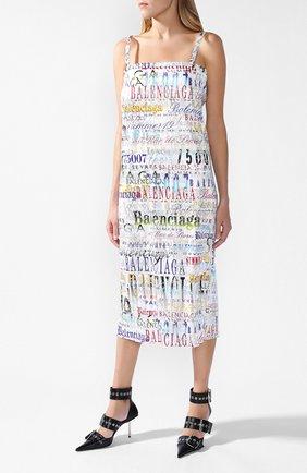 Платье с логотипом бренда | Фото №1