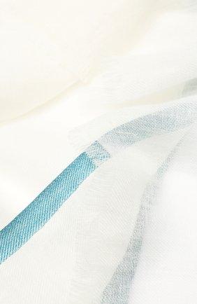 Шаль Neilos из смеси льна и шерсти с шелком | Фото №2