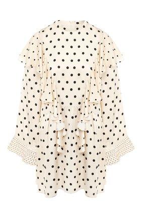 Мини-платье из вискозы | Фото №1