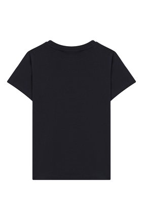 Детская хлопковая футболка raddix MOLO черного цвета, арт. 1S19A223 | Фото 2