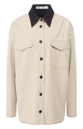 Двусторонняя куртка из хлопка | Фото №1