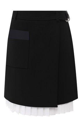 Шерстяная юбка с отделкой | Фото №1