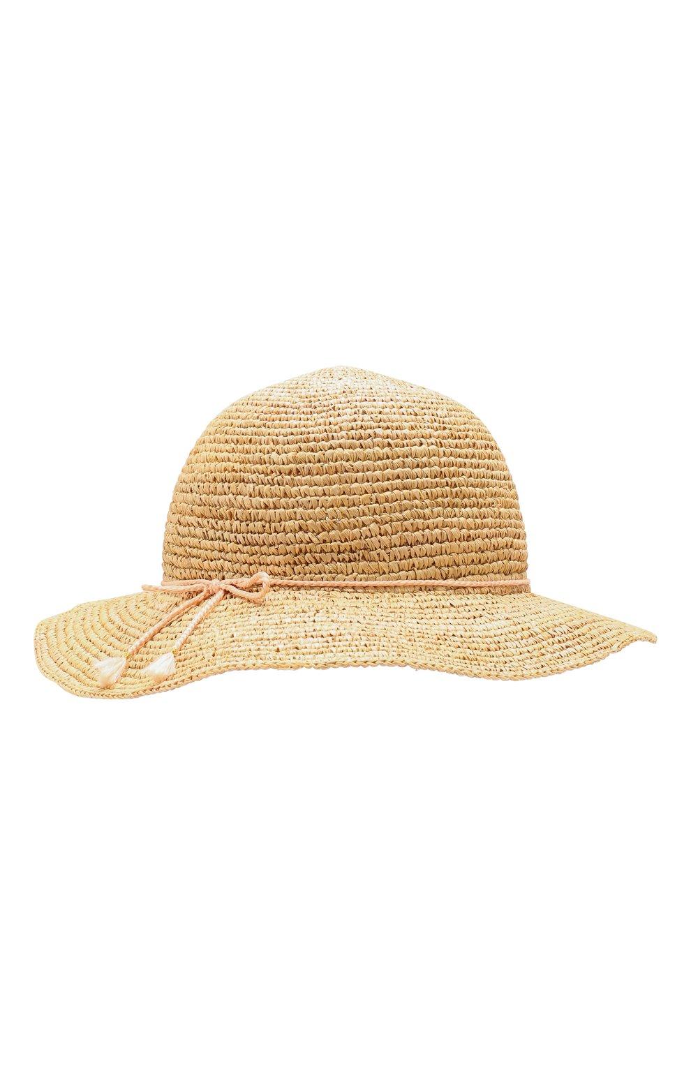 Соломенная шляпа Chloé бежевого цвета | Фото №2