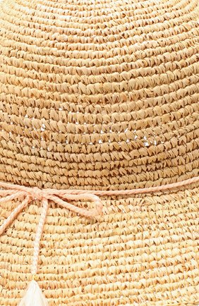 Соломенная шляпа Chloé бежевого цвета | Фото №3