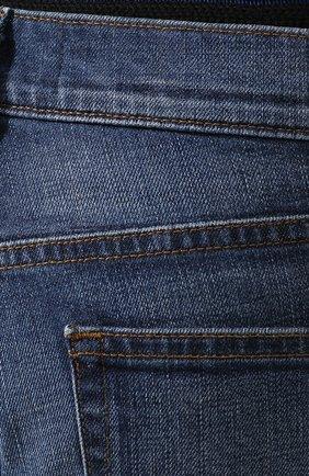 Джинсы прямого кроя J Brand голубые | Фото №5