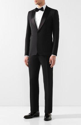 Мужской шерстяные брюки TOM FORD черного цвета, арт. 522R97/610048 | Фото 2