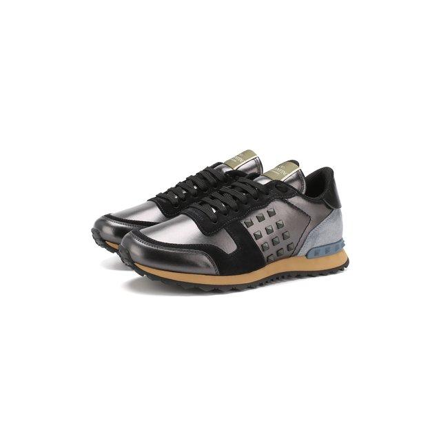 Кожаные кроссовки Valentino Garavani Rockstud Valentino — Кожаные кроссовки Valentino Garavani Rockstud