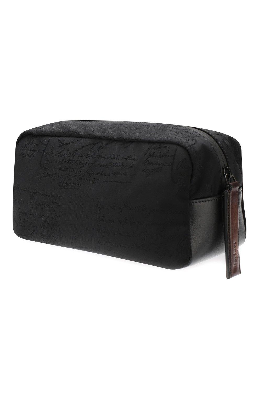 Мужской комбинированный несессер BERLUTI черного цвета, арт. N161963 | Фото 2 (Статус проверки: Проверено, Проверена категория; Материал: Текстиль)