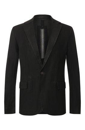 Кожаный пиджак | Фото №1