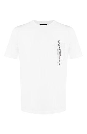Хлопковая футболка Diesel белая | Фото №1