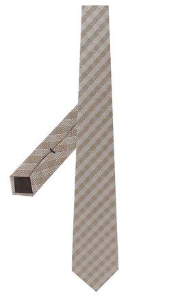 Мужской шелковый галстук TOM FORD бронзового цвета, арт. 5TF48/XTF | Фото 2
