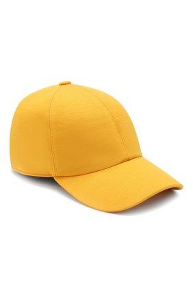 Мужской шерстяная бейсболка Z ZEGNA желтого цвета, арт. Z4I60/B2A | Фото 1