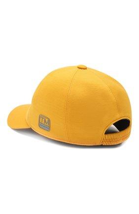 Мужской шерстяная бейсболка Z ZEGNA желтого цвета, арт. Z4I60/B2A | Фото 2