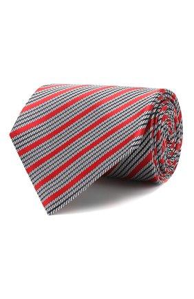 Мужской шелковый галстук ERMENEGILDO ZEGNA красного цвета, арт. Z5E23/1XW | Фото 1