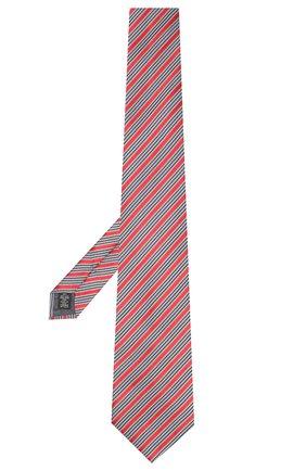 Мужской шелковый галстук ERMENEGILDO ZEGNA красного цвета, арт. Z5E23/1XW | Фото 2