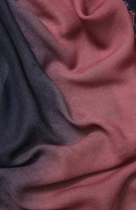 Мужской шерстяной шарф ERMENEGILDO ZEGNA розового цвета, арт. Z5L55/2D8   Фото 2