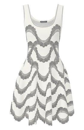 Платье из вискозы и шелка | Фото №1
