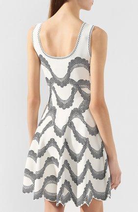 Платье из вискозы и шелка | Фото №4