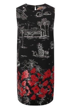 Мини-платье из вискозы и хлопка | Фото №1