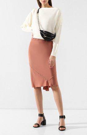 Женские кожаные босоножки MARSELL черного цвета, арт. MW5352/VACCH.V0L0NATA | Фото 2