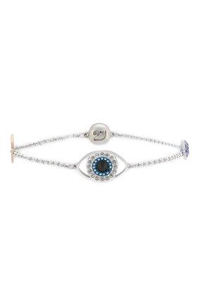 Женский браслет eye symbol SWAROVSKI серебряного цвета, арт. 5421438 | Фото 1