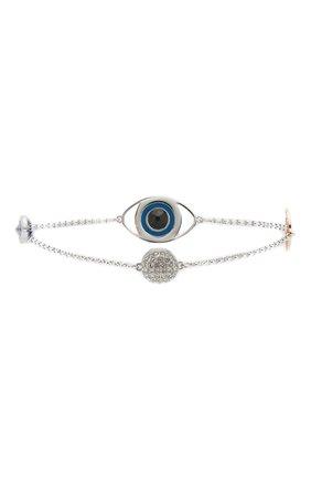 Женский браслет eye symbol SWAROVSKI серебряного цвета, арт. 5421438 | Фото 2