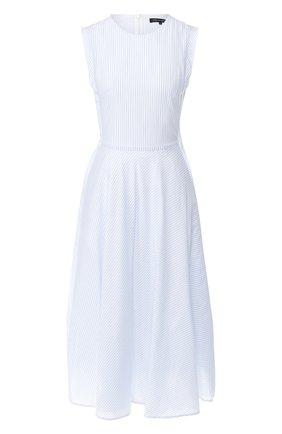 Приталенное платье в полоску | Фото №1