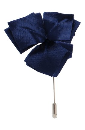 Мужская брошь FLOWER ME синего цвета, арт. NONME-VT018010S | Фото 1