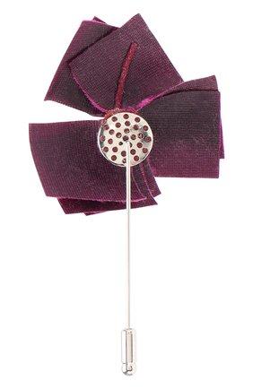 Мужская брошь FLOWER ME розового цвета, арт. NONME-VT016010S | Фото 2