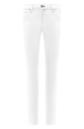 Однотонные джинсы-скинни   Фото №1