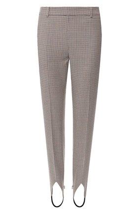 Шерстяные брюки со штрипками | Фото №1
