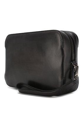 Мужской кожаный несессер BERLUTI черного цвета, арт. M173369 | Фото 2