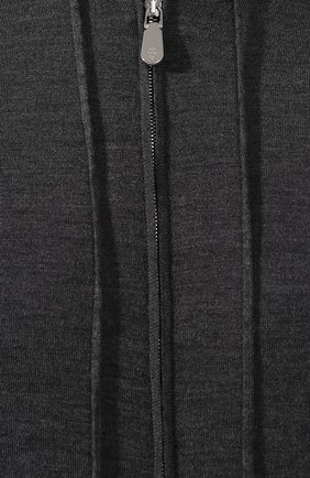 Мужской кардиган из смеси шерсти и шелка ELEVENTY PLATINUM серого цвета, арт. 979MA0256 MAG24003 | Фото 5