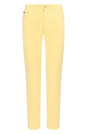 Женские джинсы-скинни POLO RALPH LAUREN желтого цвета, арт. 211729806 | Фото 1