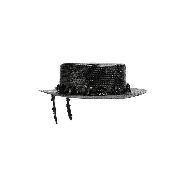 Плетеная шляпа Saint Laurent