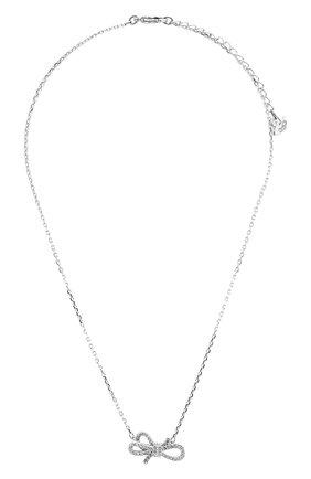 Женская колье lifelong bow SWAROVSKI серебряного цвета, арт. 5440643 | Фото 1