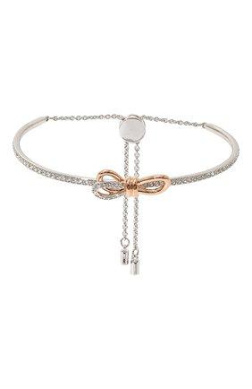 Женский браслет lifelong bow SWAROVSKI серебряного цвета, арт. 5447079 | Фото 1