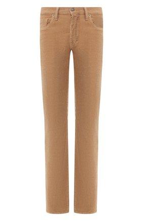 Мужские джинсы прямого кроя TOM FORD светло-бежевого цвета, арт. BSJ19/TFD002 | Фото 1