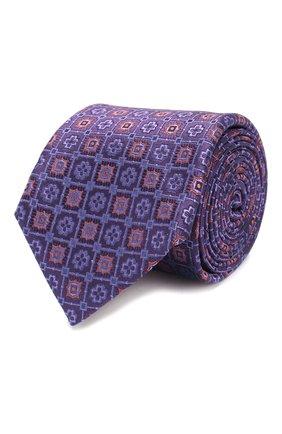 Мужской шелковый галстук CORNELIANI фиолетового цвета, арт. 83U302-9120408/00 | Фото 1
