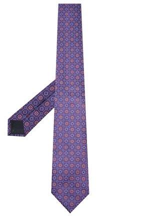 Мужской шелковый галстук CORNELIANI фиолетового цвета, арт. 83U302-9120408/00 | Фото 2