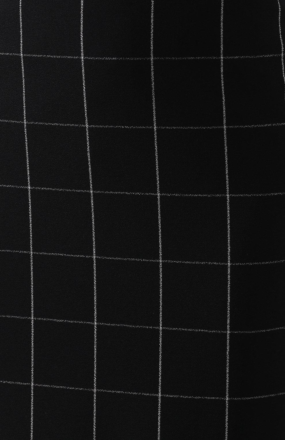 Женская юбка-миди BOSS черно-белого цвета, арт. 50404835 | Фото 5