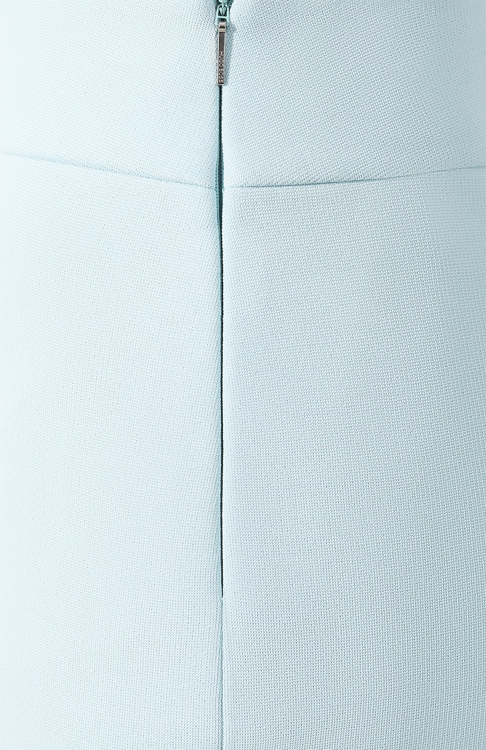 Женская юбка-миди BOSS бирюзового цвета, арт. 50404819   Фото 5