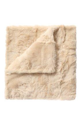 Меховой плед из овчины | Фото №1