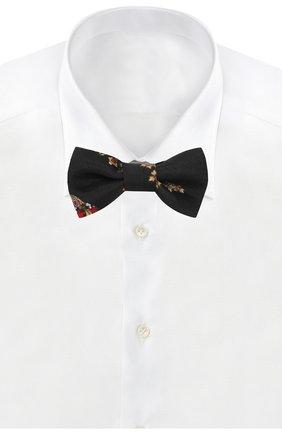 Детский шелковый галстук-бабочка DOLCE & GABBANA черного цвета, арт. LB6A68/G0TAV | Фото 2